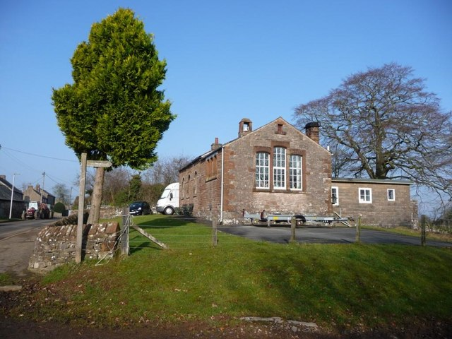 The former village school, King's Meaburn