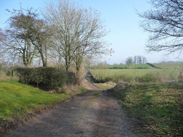 Hoggs Lane, heading north-west