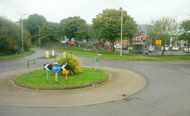 Roundabout on Alverdiscott Road
