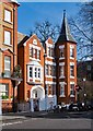 TQ2678 : St. Teresa's Home, 46 Roland Gardens, SW7 by Julian Osley