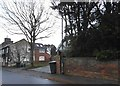 TL1126 : Houses on East Street, Lilley by David Howard