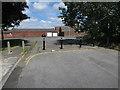 TL6365 : Vehicle restriction on Studlands Park Avenue by Hugh Venables