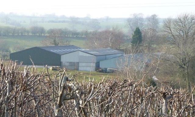 Farm sheds at Littlebeck