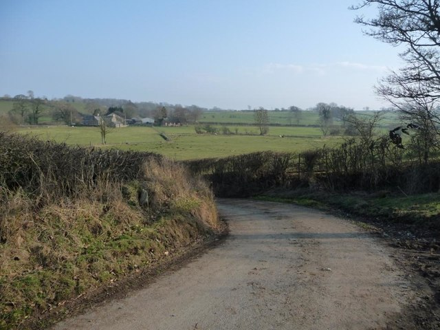 Bend on the lane from High Whitber to Littlebeck
