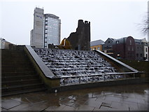 SS6593 : Castle Square, Swansea by Eirian Evans