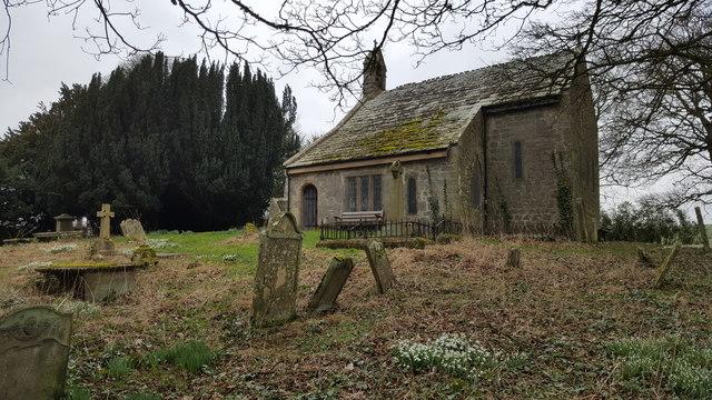Old Haydon church