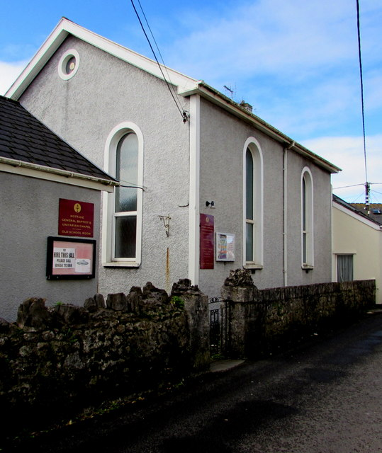 Nottage General Baptist & Unitarian Chapel, Nottage