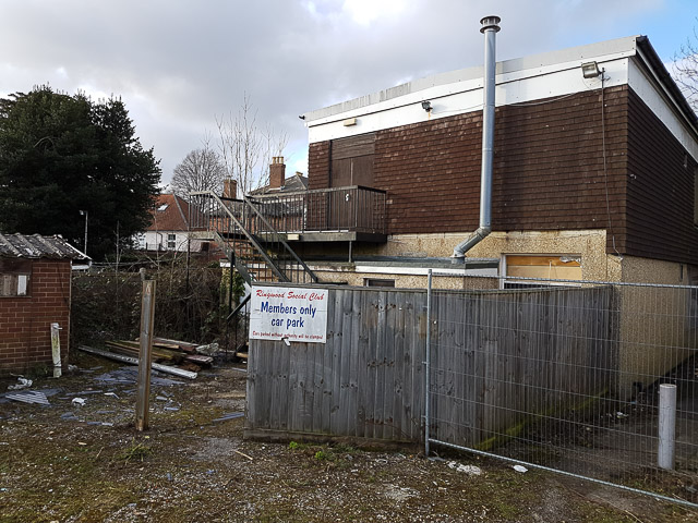 Rear of Ringwood Social Club
