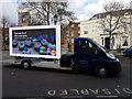 SU1405 : Digivan in Ringwod Market Place by Peter Facey