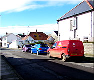 SS8178 : Royal Mail van in Heol Croes Faen, Nottage by Jaggery