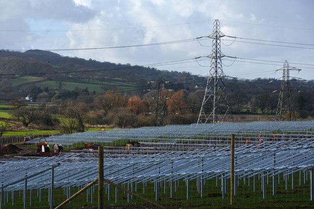 Mid Devon : Stoneshill Solar Farm