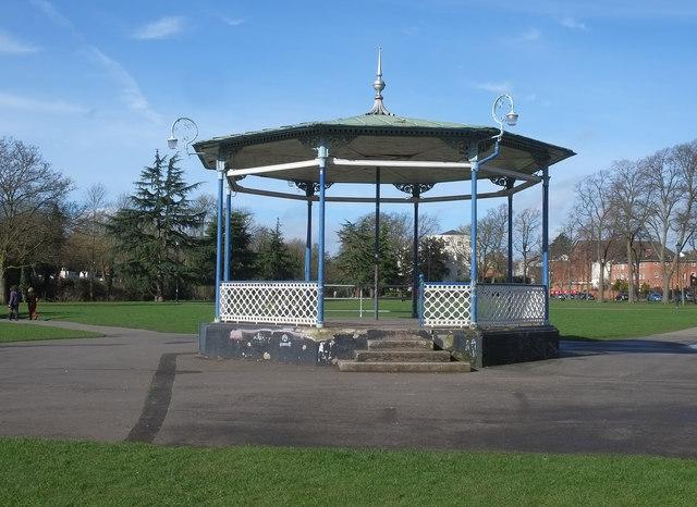 Bandstand, Pump Room Gardens, Leamington Spa