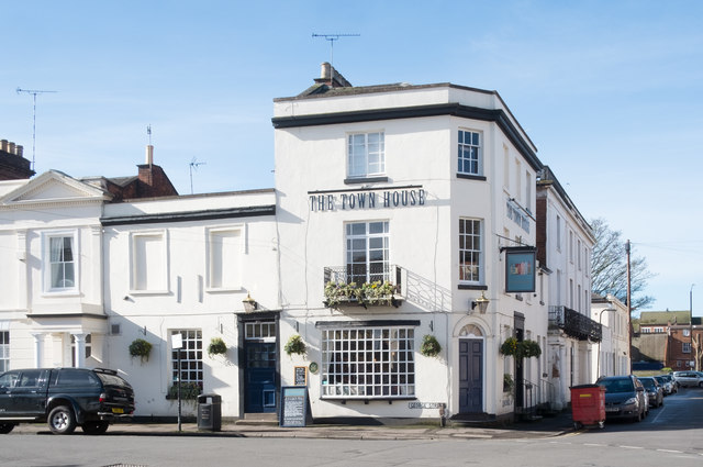 """The Town House"" public house, George Street, Leamington Spa"