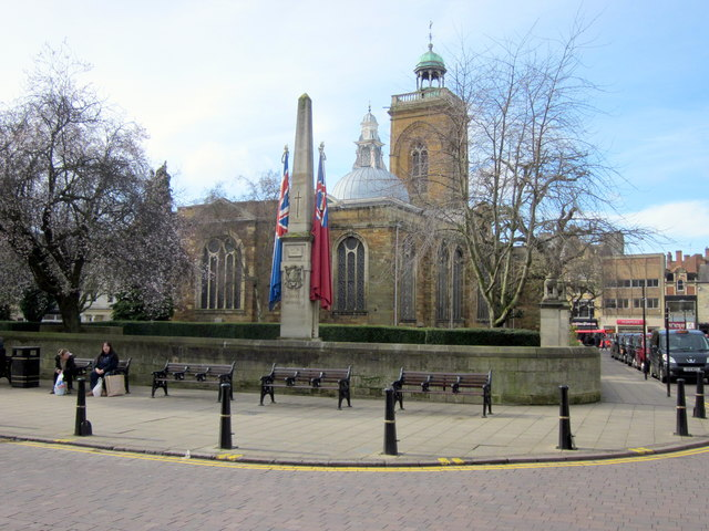 a6b3d6dfb Northampton War Memorial and All Saints... © Roy Hughes cc-by-sa 2.0 ...