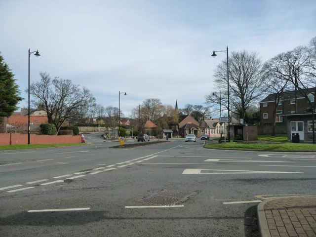 Road junction, Cleadon