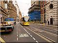 SJ8398 : Metrolink Second City Crossing, Cross Street by David Dixon