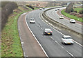 J2864 : The M1, Tullynacross near Lisburn - March 2017(3) by Albert Bridge