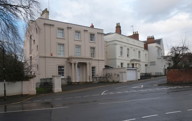 Grade II listed villas, Leamington Spa