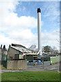 SJ4612 : Royal Shrewsbury Hospital - boiler house by Chris Allen