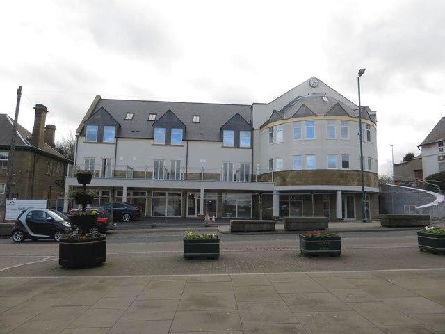 New build, Bedlington town centre