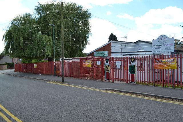 Ogley Hay Nursery School and Brownhills Children's Centre, Brickiln Street, Brownhills