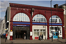 TQ3179 : Lambeth North Station by Peter Trimming