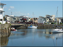 SH5738 : Porthmadog Harbour by Robin Webster