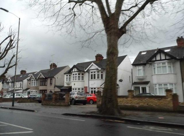Houses on Main Road, Romford