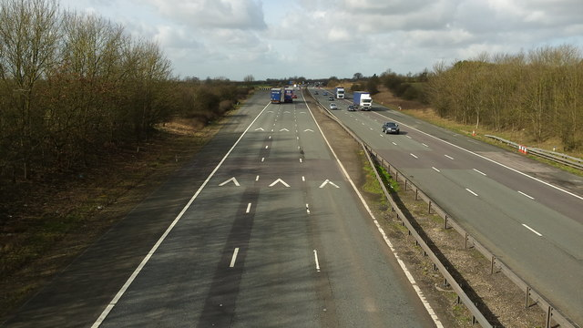 The M6 from Montilo Lane