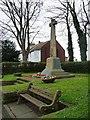 NZ3661 : War memorial, Front Street, East Boldon by Christine Johnstone