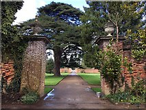 ST2885 : The gateway to Tredagar House by Graham Hogg