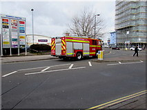 SZ6599 : Schools education fire engine, Goldsmith Avenue, Portsmouth by Jaggery
