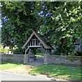SU4782 : Lychgate, All Saints, West Ilsley by Rudi Winter