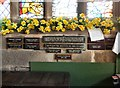 SJ7798 : Palm Sunday window dedication by Gerald England
