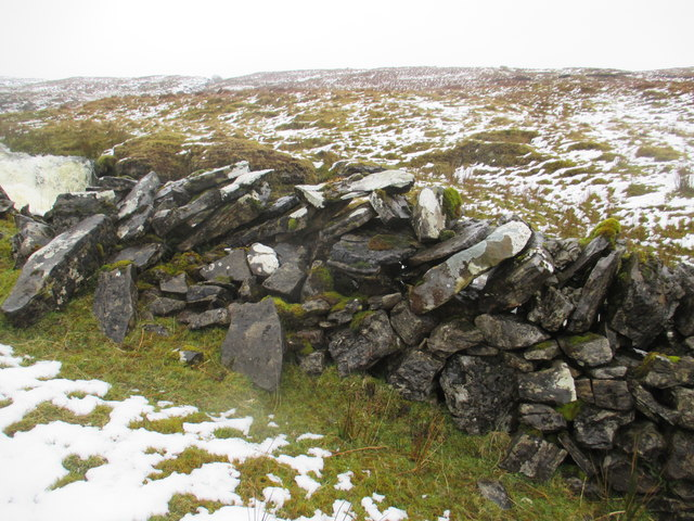 Dry Stone Wall on Benbulben