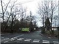 TQ5292 : School entrance on Broxhill Road, Havering-atte-Bower by David Howard