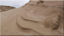 NC3970 : Hard crusts in the sand dunes by Julian Paren