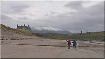 NC3968 : Balnakeil from the sand by Julian Paren