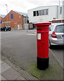 SZ6599 : Victorian pillarbox, Francis Avenue, Portsmouth by Jaggery