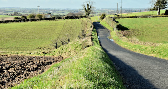 The Scrabo Road, Newtownards (March 2017)