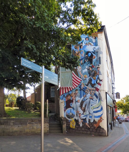 The Eccles Wakes Mural