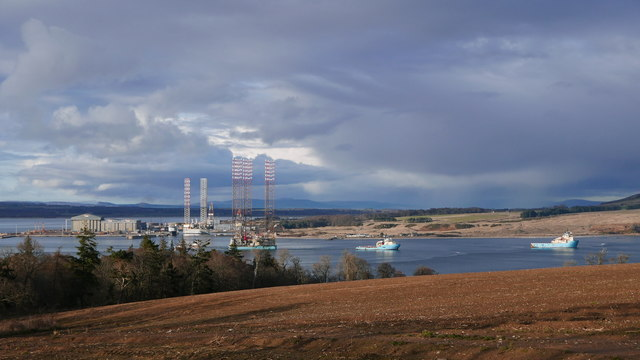 Outlook from Cromarty Mains