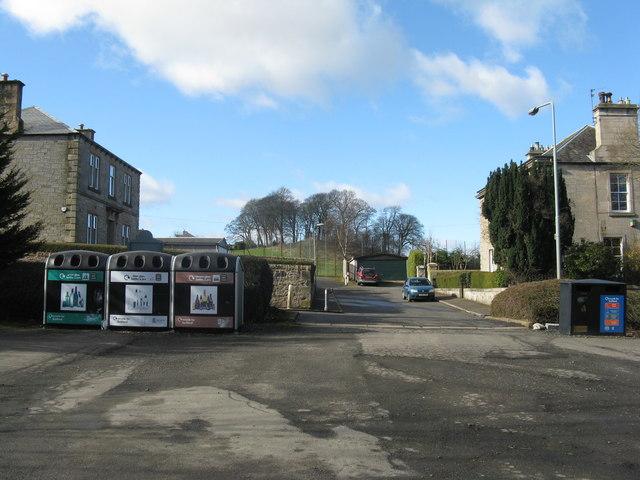 Recycling centre at Mid Calder