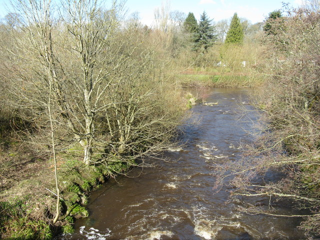 The Linhouse Water at Mid Calder
