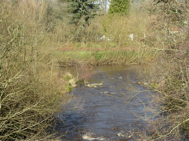 River Almond and Linhouse Water