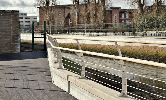 Connswater path, Belfast - March 2017(1)
