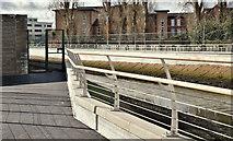 J3674 : Connswater path, Belfast - March 2017(1) by Albert Bridge