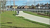 J3674 : Connswater path, Belfast - March 2017(3) by Albert Bridge