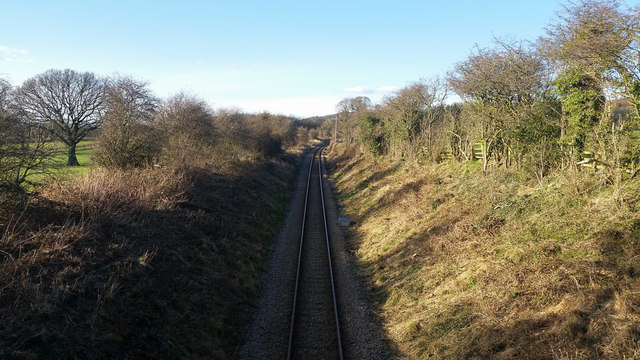 Middlesbrough to Whitby railway near Easby