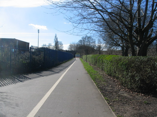 Footpath and cycleway